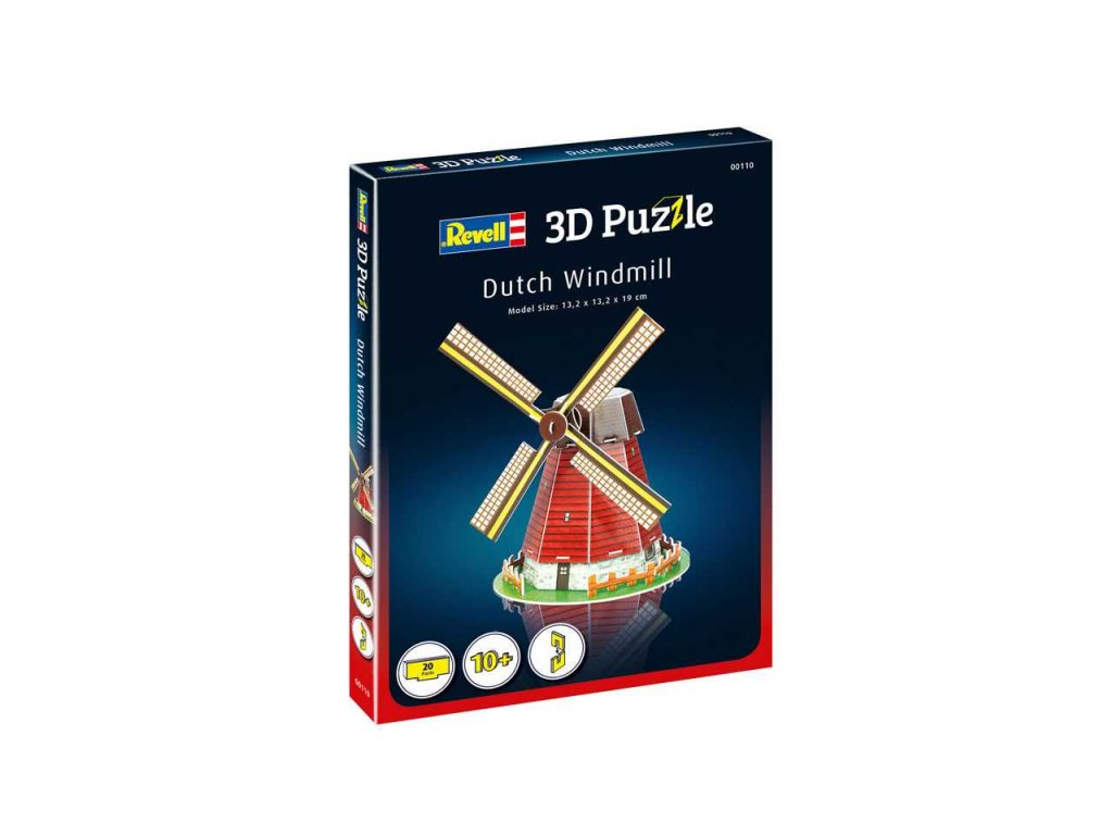 3D Puzzle REVELL 00110 Dutch Windmill a99952147 10374