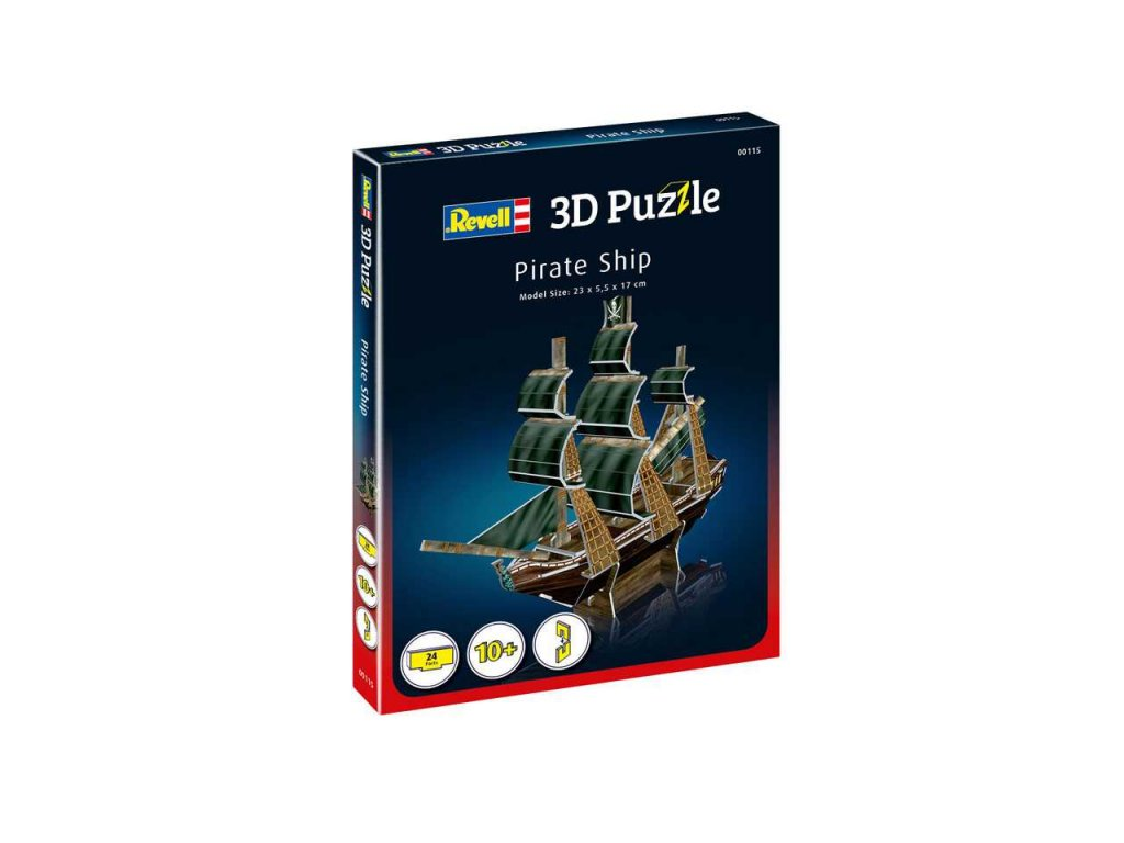 3D Puzzle REVELL 00115 Pirate Ship a99952205 10374