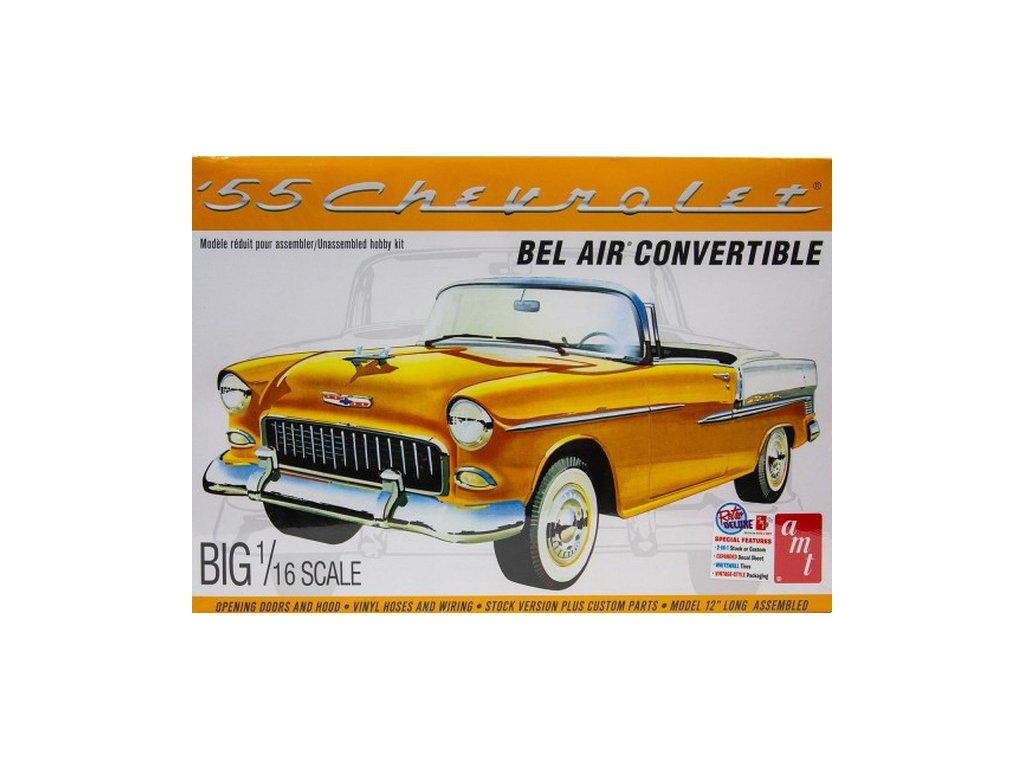 1955 Chevy Bel Air Convertible 1:16