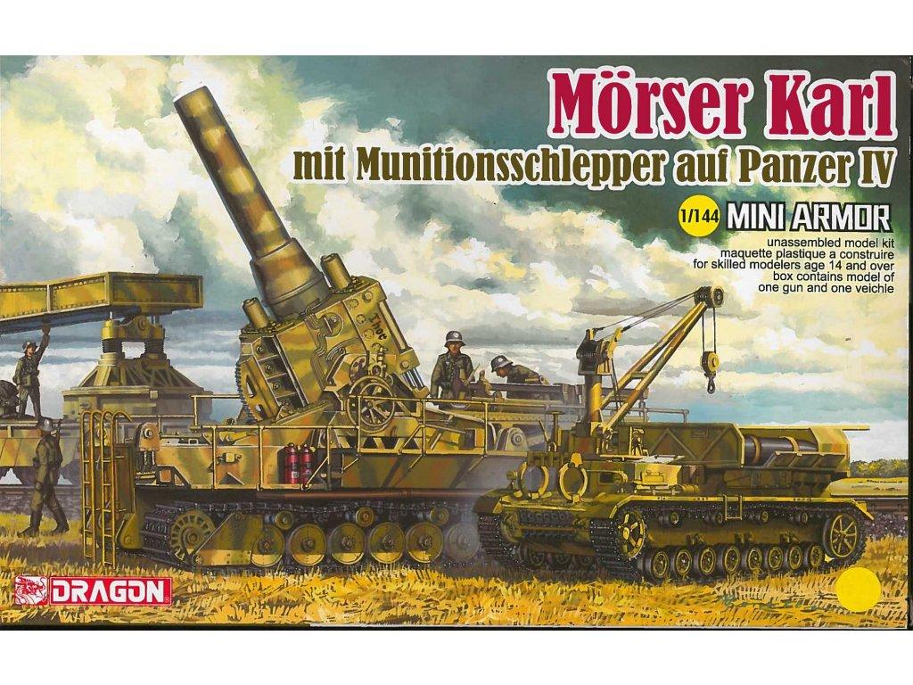 Model Kit military 14135 Morser Karl mit Munitionsschlepper auf Panzer IV 1 144 a112141944 10374