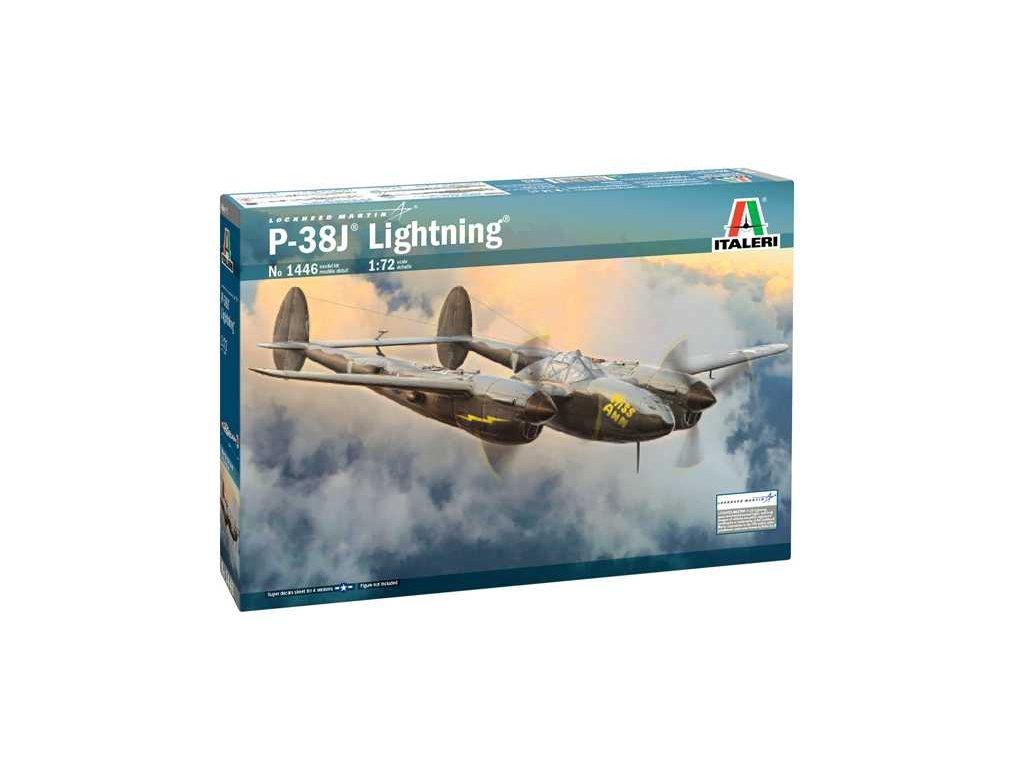 Model Kit letadlo 1446 P 38J Lightning 1 72 a115257084 10374