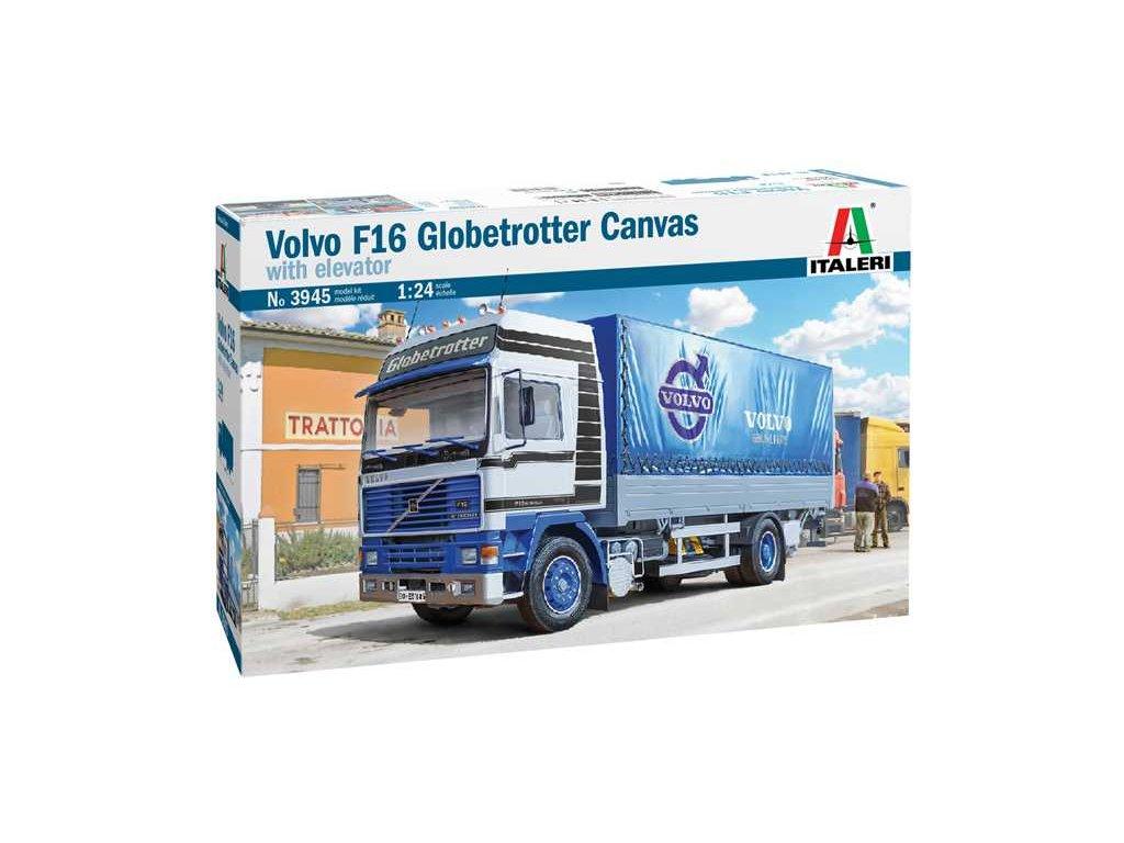 Model Kit truck 3945 VOLVO F16 Globetrotter Canvas 1 24 a100677819 10374