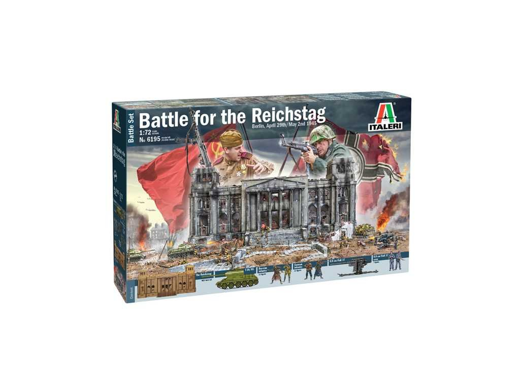 Model Kit diorama 6195 Berlin 1945 Battle for the Reichstag 1 72 a110159689 10374