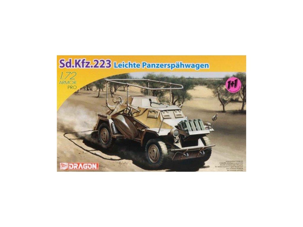 Sd.Kfz.223 Panzerfunkwagen 1:72