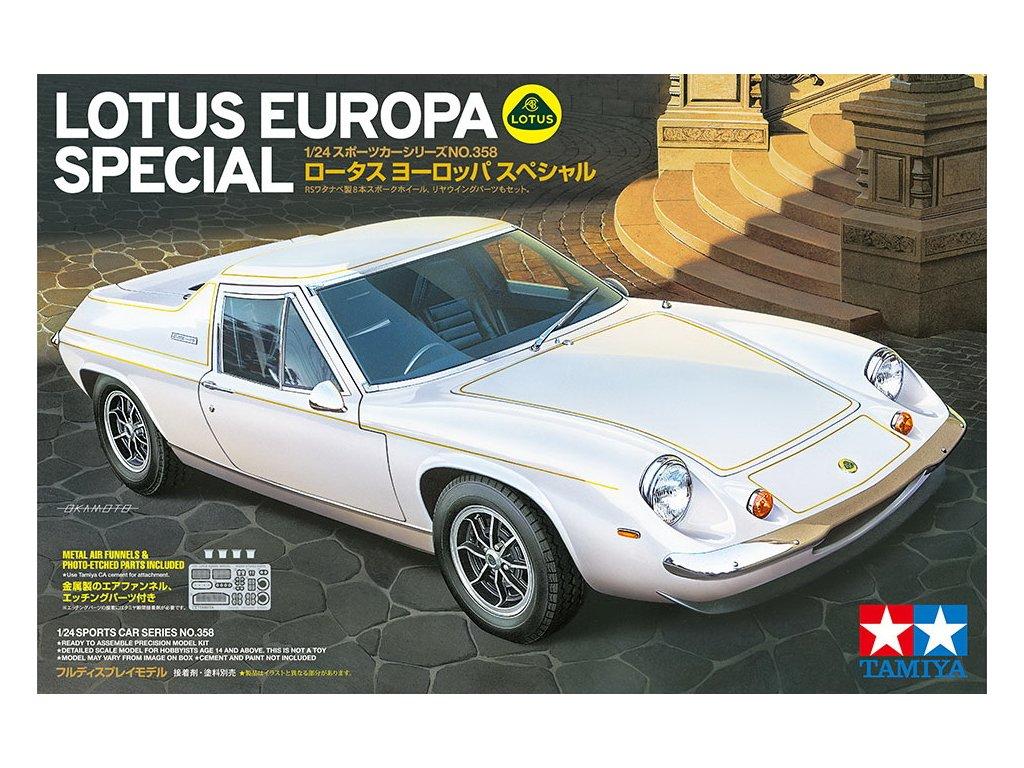 Lotus Europa Special 1:24