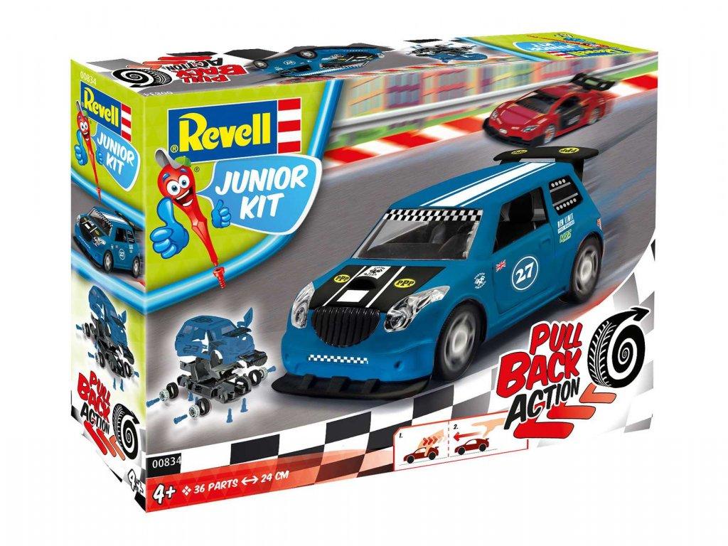Junior Kit auto 00834 Pull Back Rallye Car modre 1 20 a109311787 10374