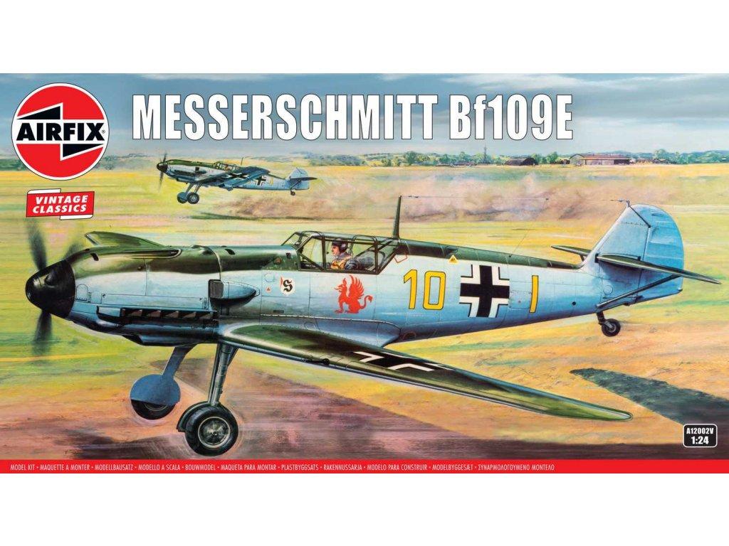 Classic Kit VINTAGE letadlo A12002V Messerschmitt Bf109E 1 24 a109444990 10374