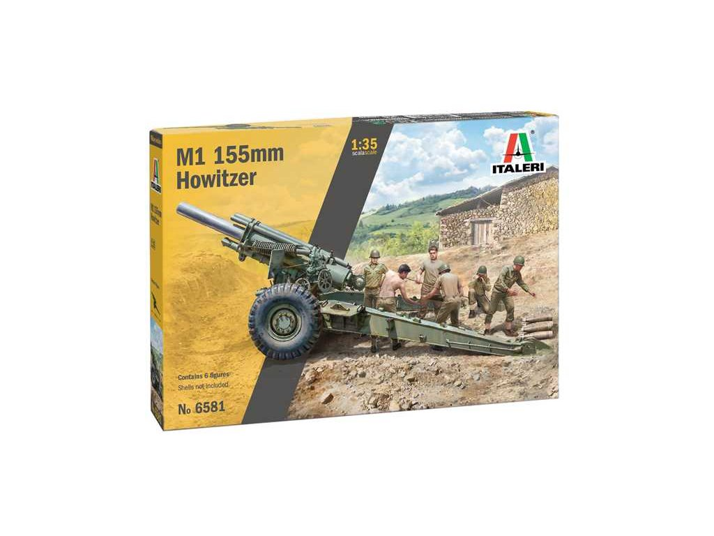 Model Kit military 6581 M1 155mm Howitzer 1 35 a110159665 10374