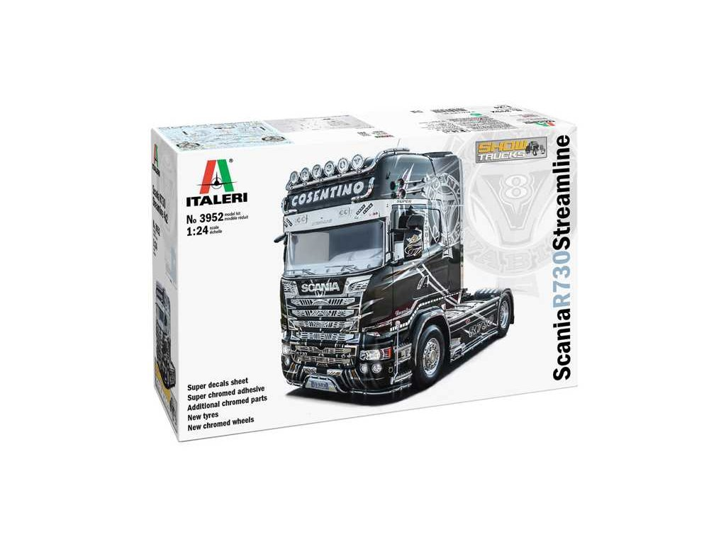 Model Kit truck 3952 Scania R 730 Streamline 4x2 Show Trucks 1 24 a120803263 10374