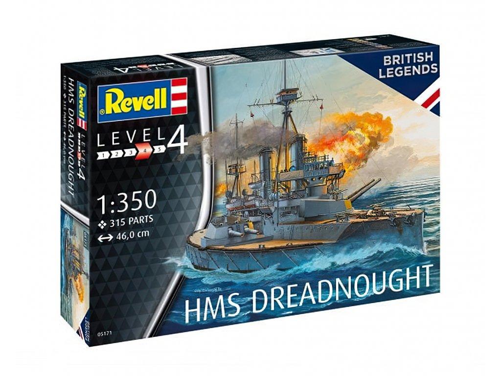 HMS Dreadnought 1:350