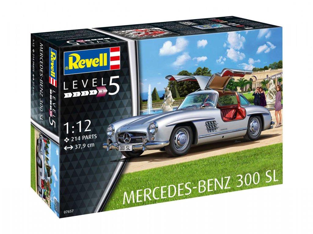 Plastic ModelKit auto 07657 Mercedes Benz 300 SL 1 12 a109310018 10374