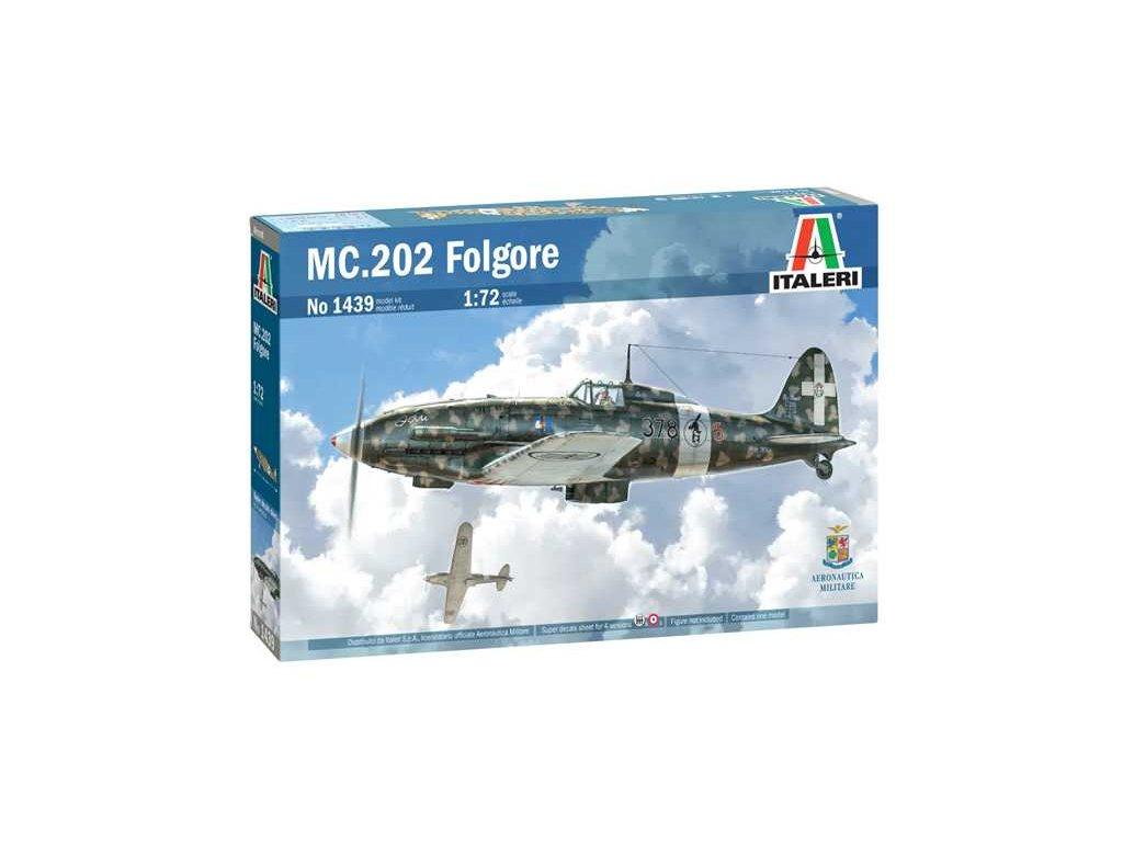 Model Kit letadlo 1439 MC 202 Folgore 1 72 a110159419 10374