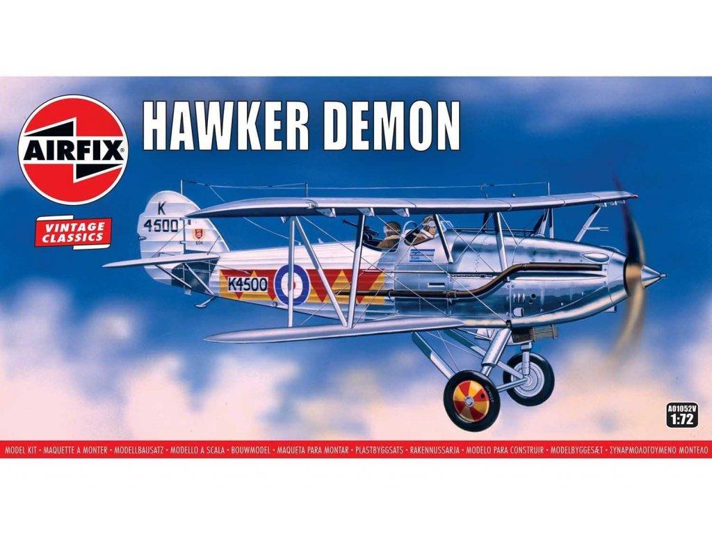 Classic Kit VINTAGE letadlo A01052V Hawker Demon 1 72 a99099094 10374