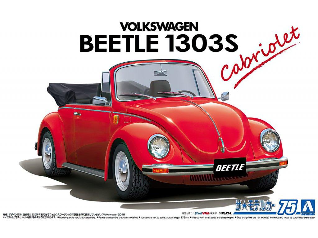 Volkswagen 15ADK Beetle 1303S Cabriolet 1975 1:24