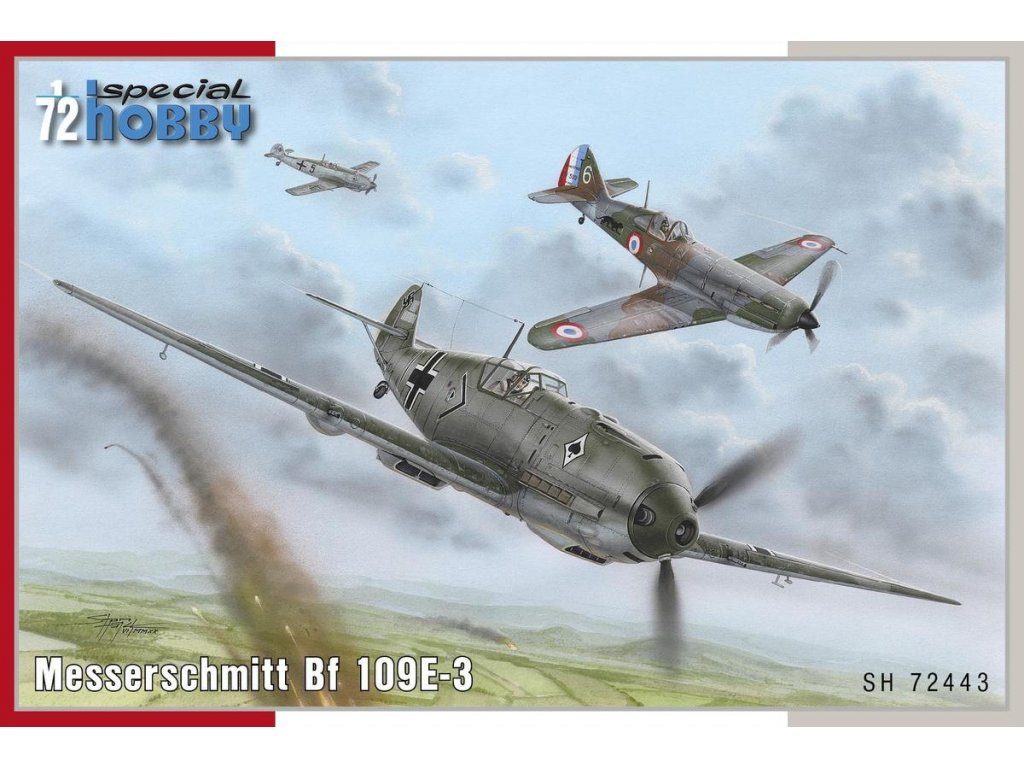 Messerschmitt Bf 109E-3 1:72