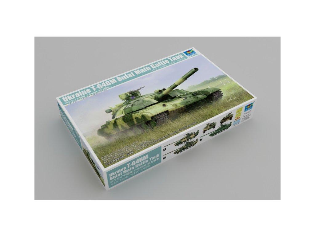 Ukraine T-64BM Bulat Main Battle Tank 1:35