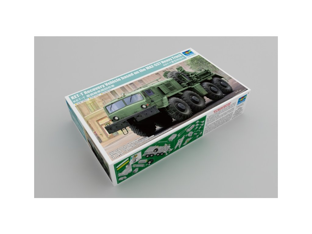 KET-T Recovery Vehicle based on the MAZ-537 Heavy Truck 1:35