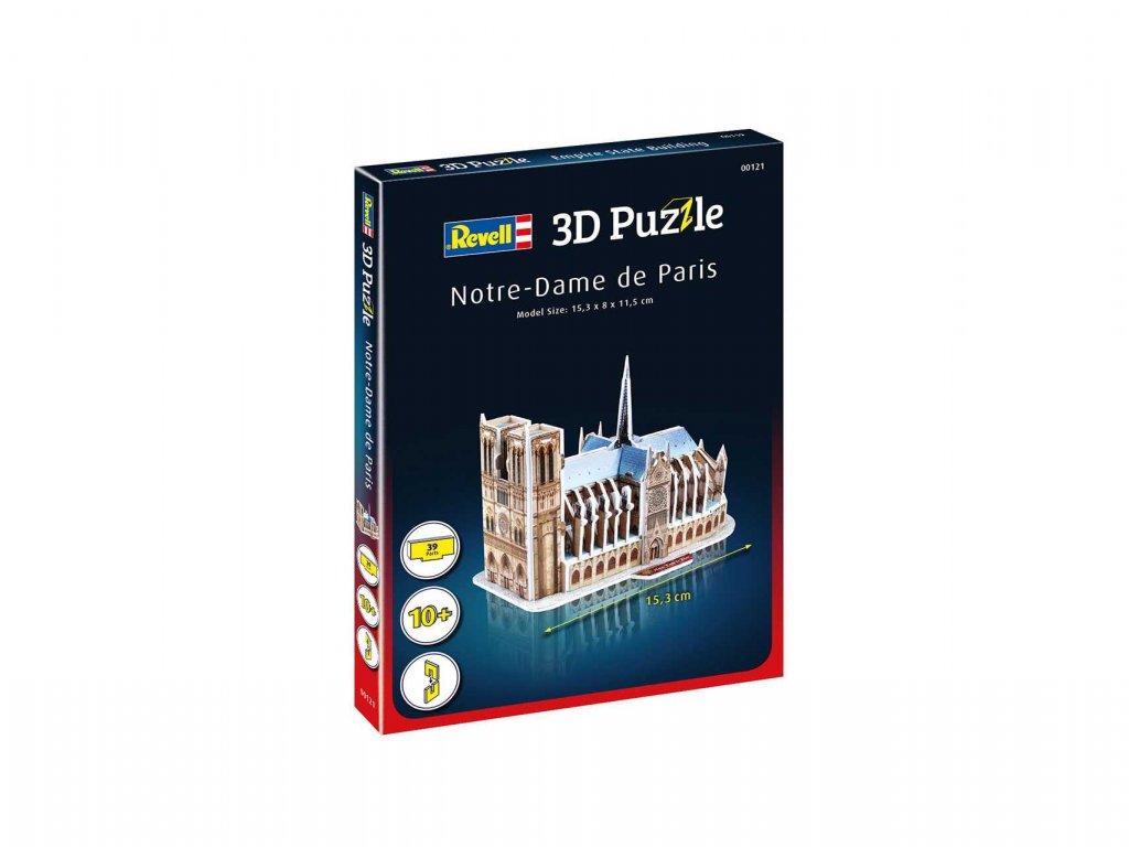 3D Puzzle REVELL 00121 Notre Dame de Paris a119007832 10374