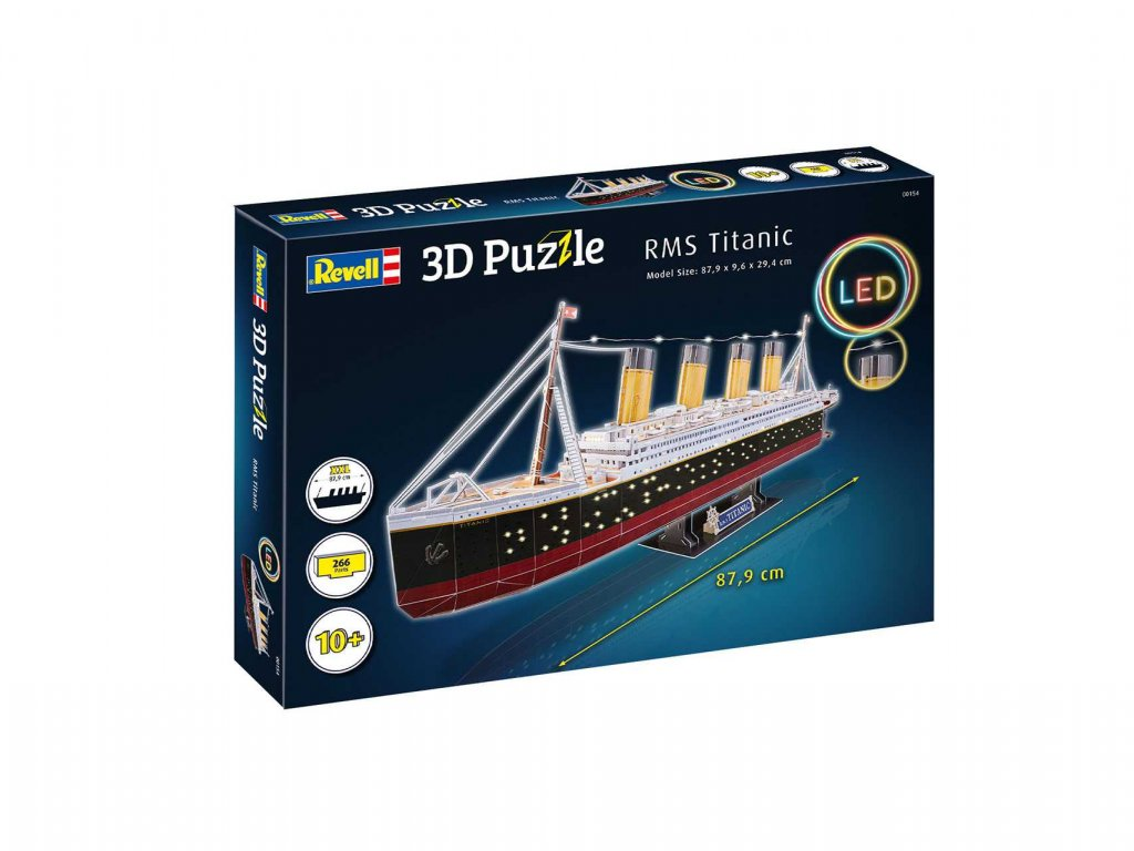3D Puzzle REVELL 00154 RMS Titanic LED Edition a119007838 10374