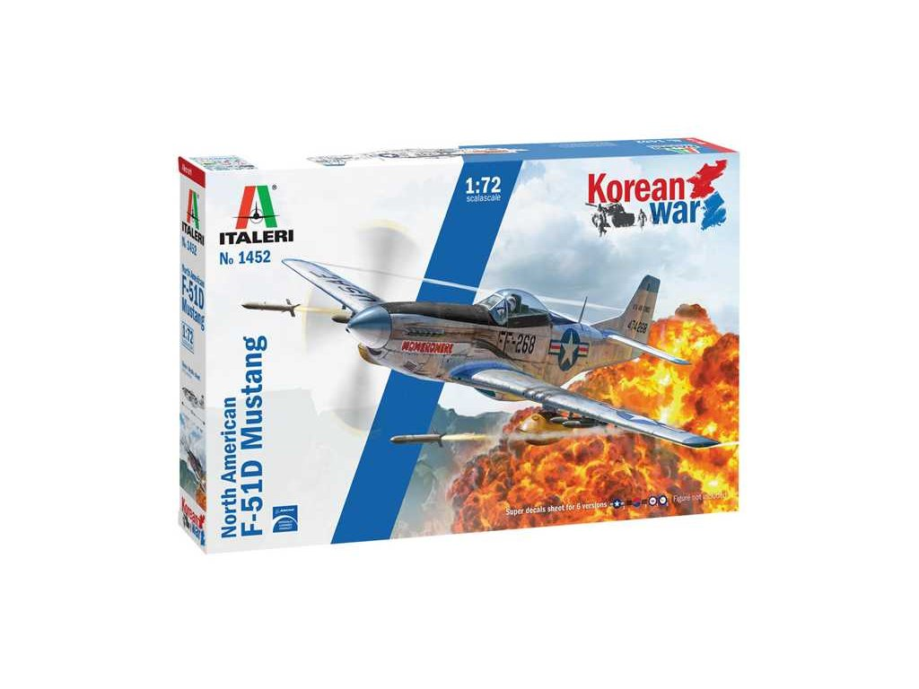 Model Kit letadlo 1452 F 51D Korean War 1 72 a121525774 10374