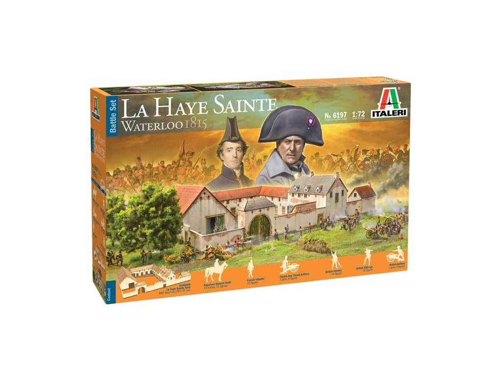 Model Kit diorama 6197 Waterloo 1815 La Haye Sainte 1 72 a121525923 10374