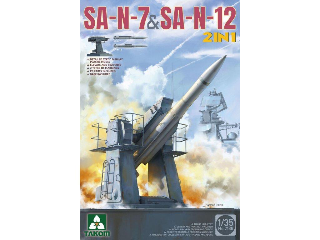Russian SA-N-7 'Gadlfy' & SA-N-12 'Grizzly' SAM 1:35