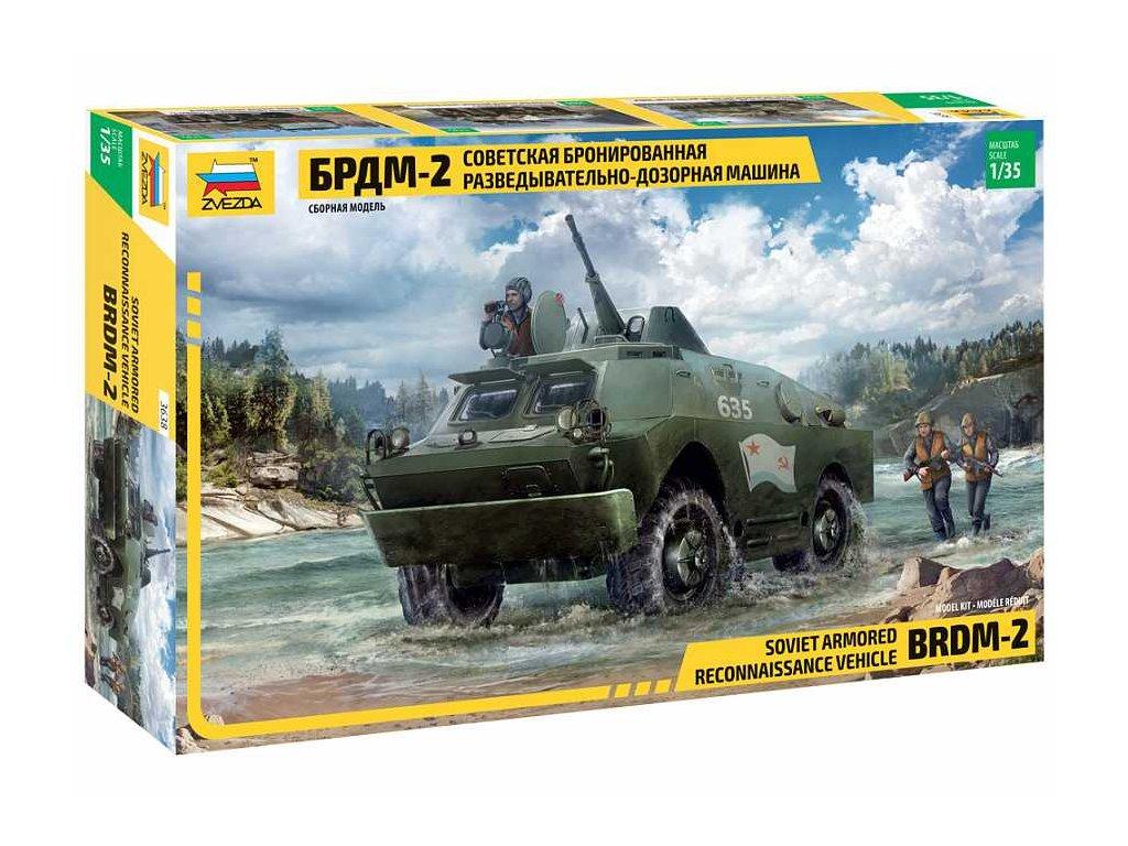 Model Kit military 3638 BRDM 2 Russian Armored Car 1 35 a120129656 10374