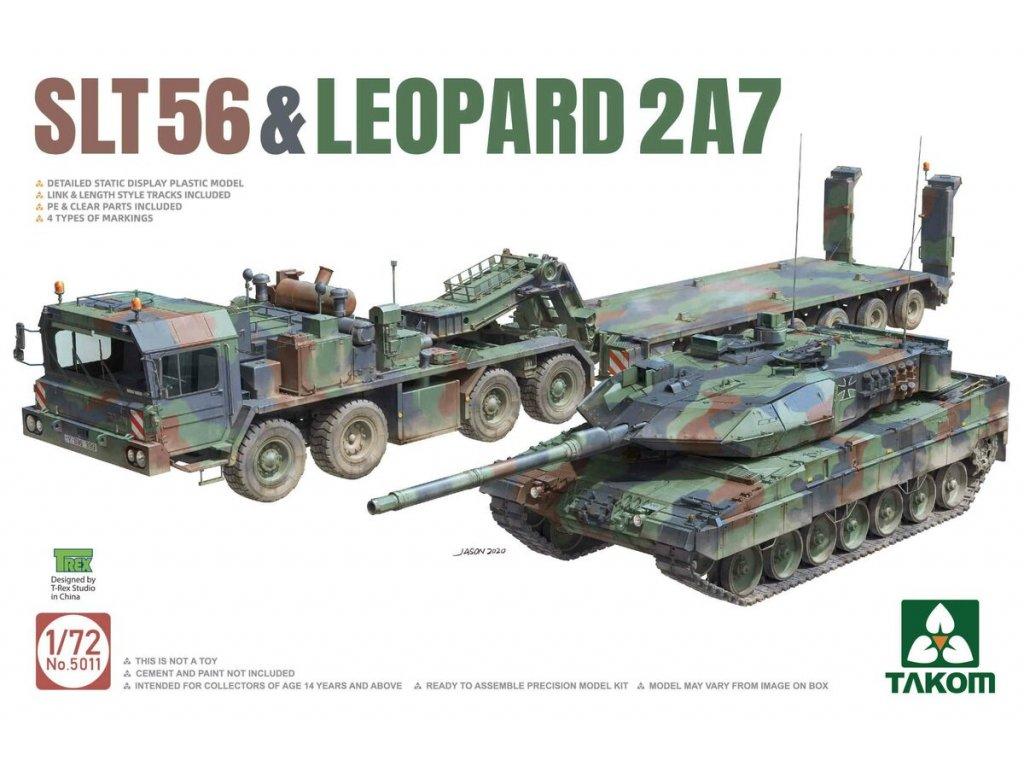 SLT56 & LEOPARD 2A7 1:72