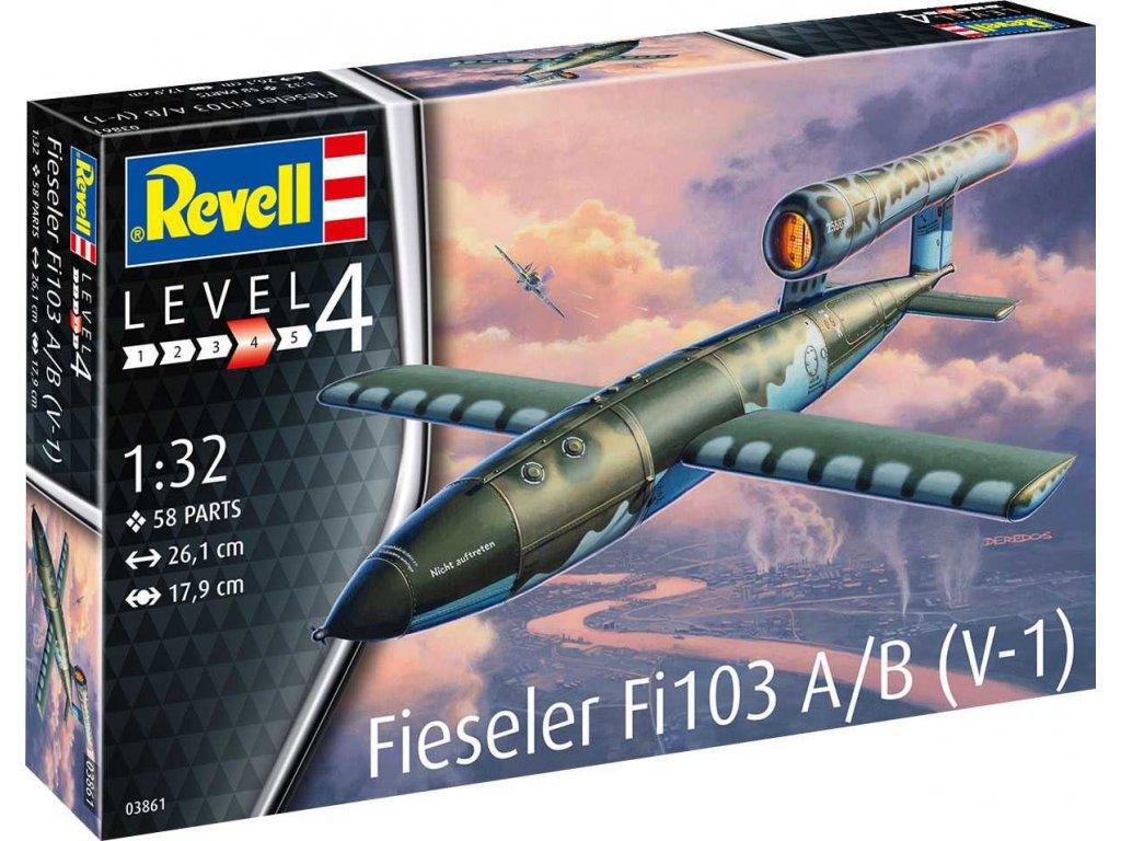 Plastic ModelKit raketa 03861 Fieseler Fi103 A B V 1 1 32 a119007286 10374