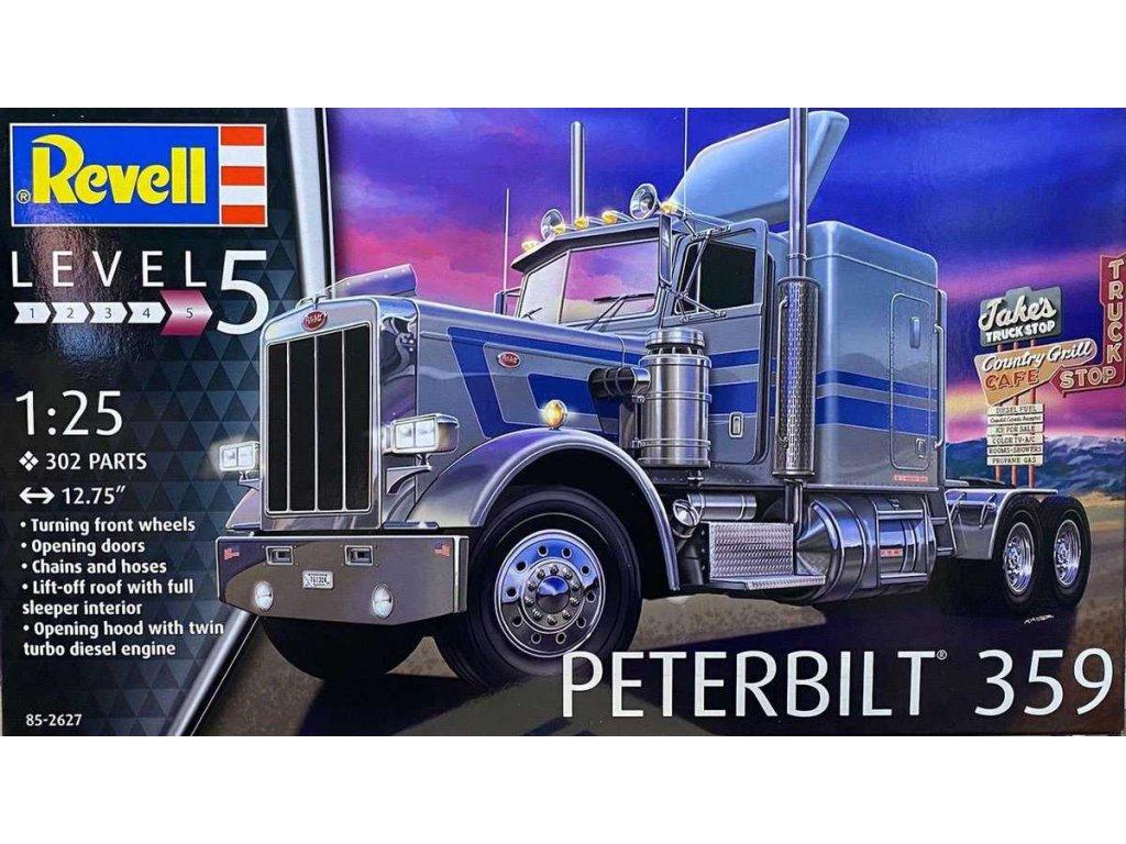 Plastic ModelKit MONOGRAM truck 2627 Peterbilt 359 1 25 a113214539 10374 (1)