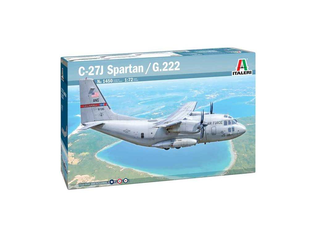 Model Kit letadlo 1450 C 27A Spartan G 222 1 72 a121732008 10374