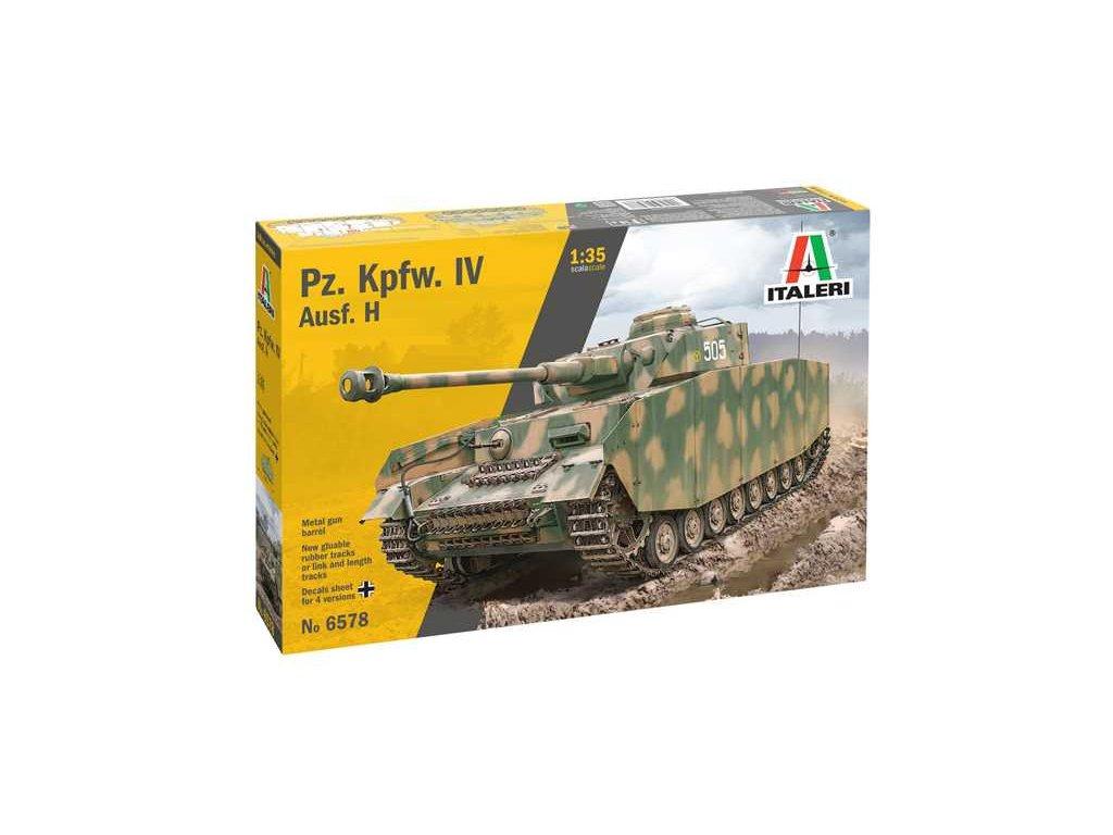 Model Kit tank 6578 Pz Kpfw IV Ausf H 1 35 a110159635 10374