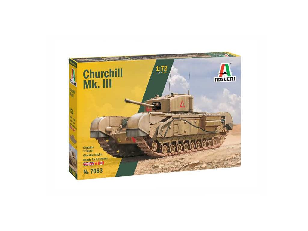 Model Kit tank 7083 Churchill Mk III 1 72 a110159713 10374