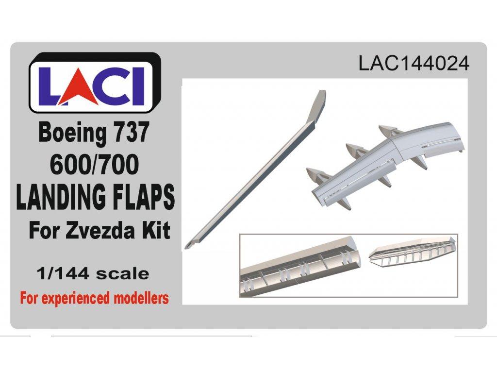 B737-600/700/800 Landing Flaps 1/144