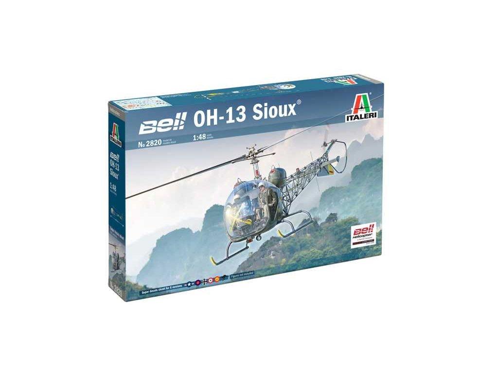 Model Kit vrtulnik 2820 OH 13 Sioux Corean War 1 48 a121732136 10374