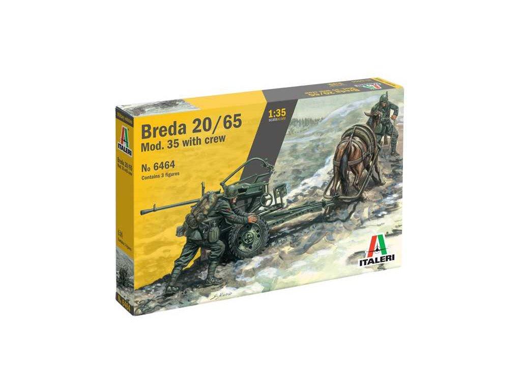 Model Kit military 6464 HORSE DRAWN BREDA 20 65 W SERVANTS 1 35 a64218143 10374