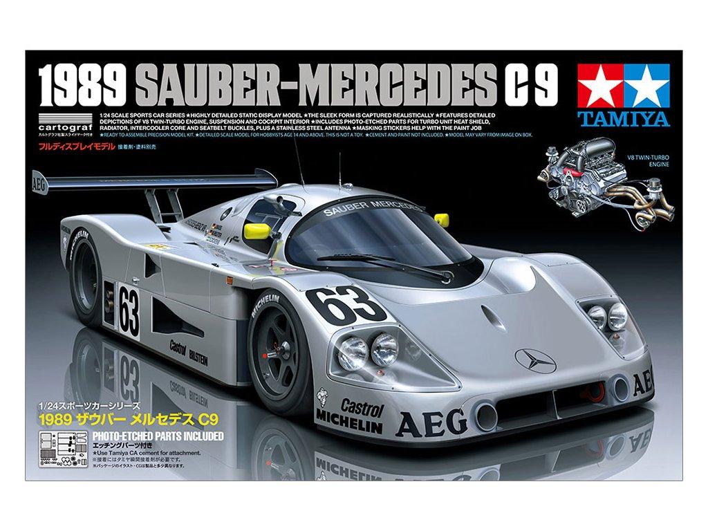 1989 Sauber-Mercedes C9 1:24