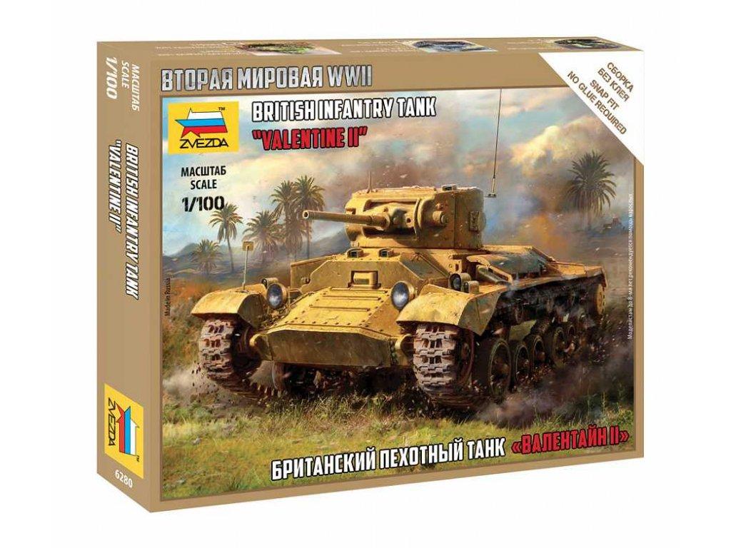Wargames WWII 6280 British Infantry Tank Valentine II 1 100 a120129842 10374