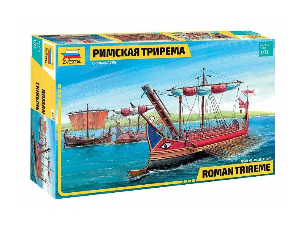 Model Kit lod 8515 Roman Trireme 1 72 a63857936 10374