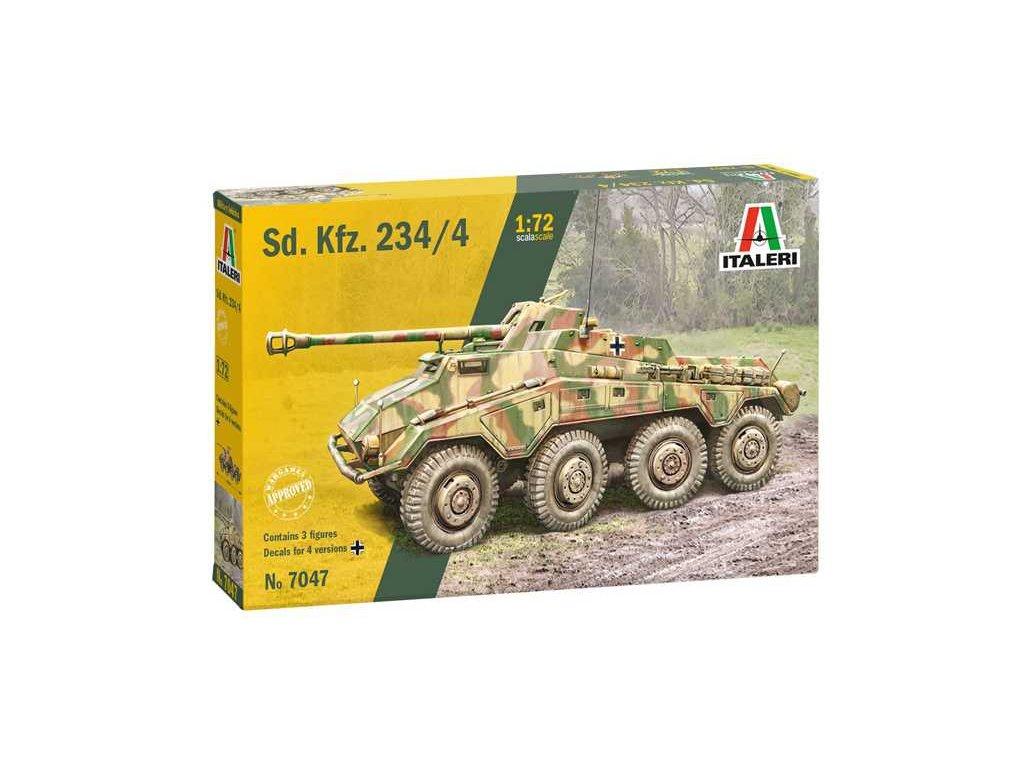 Model Kit military 7047 Sd Kfz 234 4 1 72 a121732218 10374