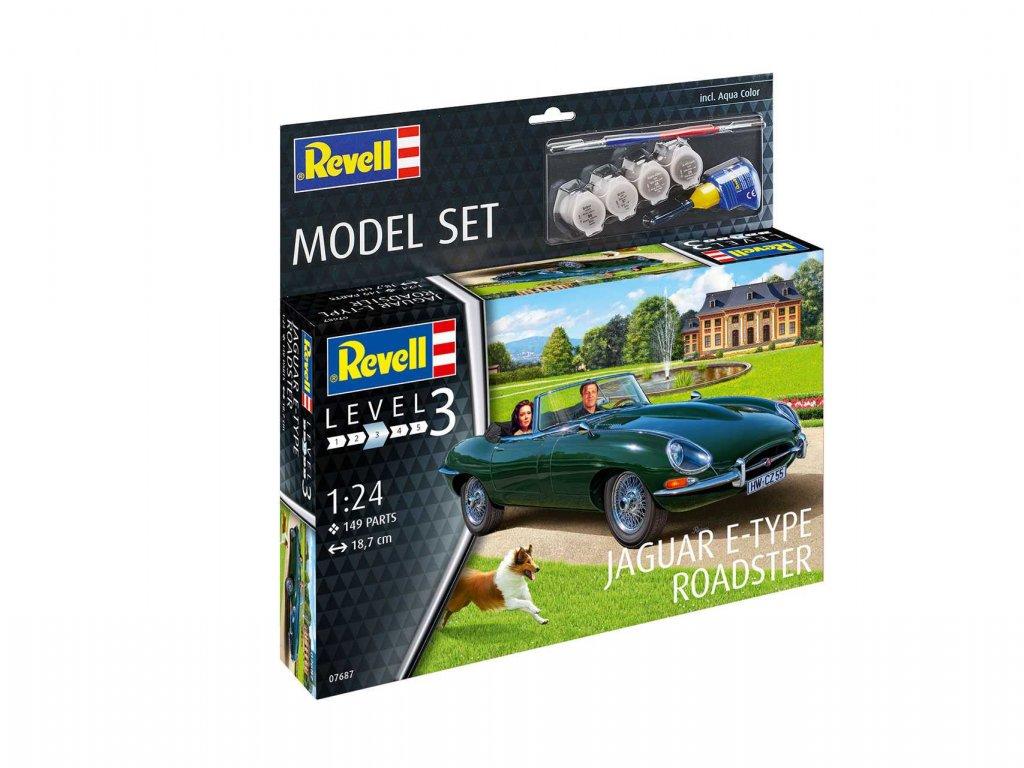 ModelSet auto 67687 Jaguar E Type Roadster 1 24 a119007676 10374