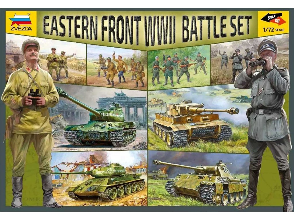 Battle Set 5203 Eastern Front WWII 1 72 a120129782 10374