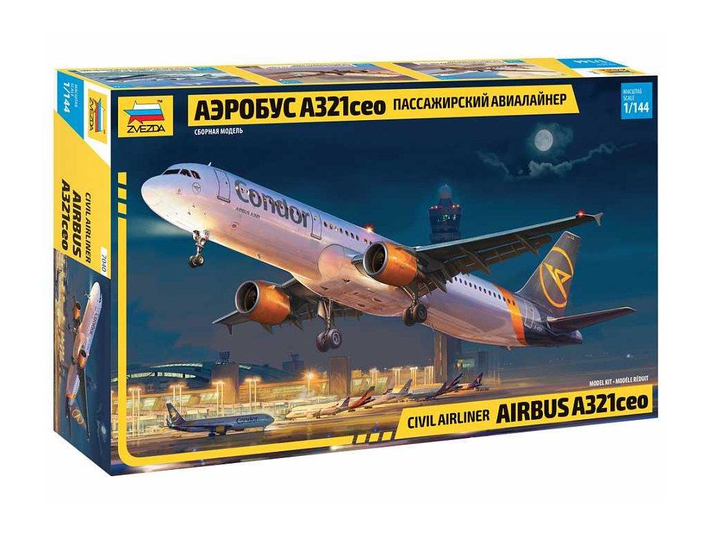 Model Kit letadlo 7040 Airbus A321 CEO 1 144 a120129912 10374