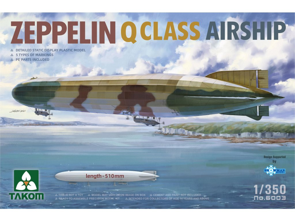 Zeppelin Q Class Airship 1:350