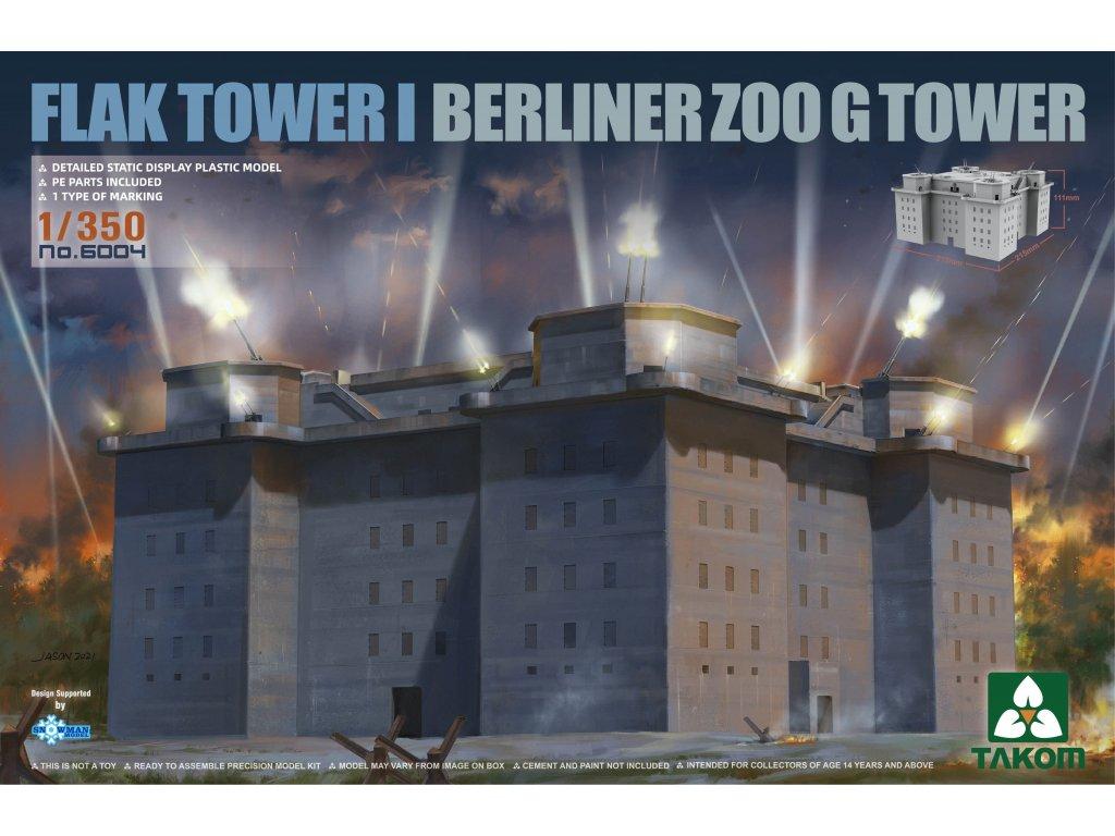 FLAK TOWER I Berlin Zoo G Tower 1:350