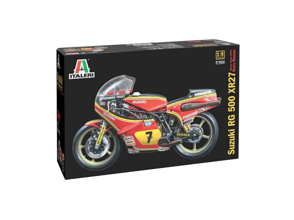 Model Kit motorka 4644 Suzuki RG 500 XR27 Team Heron Barry Sheene 1978 1 9 a121732372 10374
