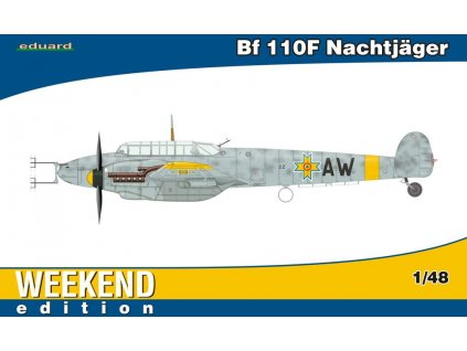 Bf 110F Nachtjäger (Weekend) 1:48