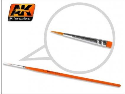 Round Brush 3/0 Synthetic / okrúhly štetec