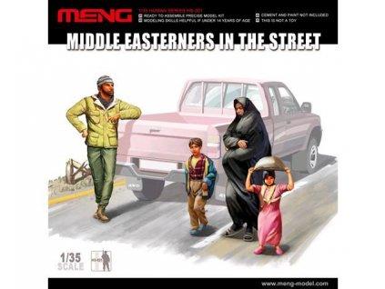 Middle Easterners in the Street / Obyvateľstvo Stredného východu 1:35