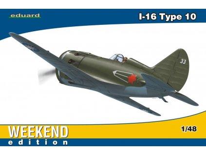 Polikarpov I-16 type 10 Weekend 1:48